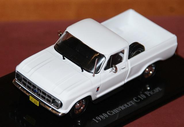 Chevrolet C10 Picape 1980 Escala 1:43 De