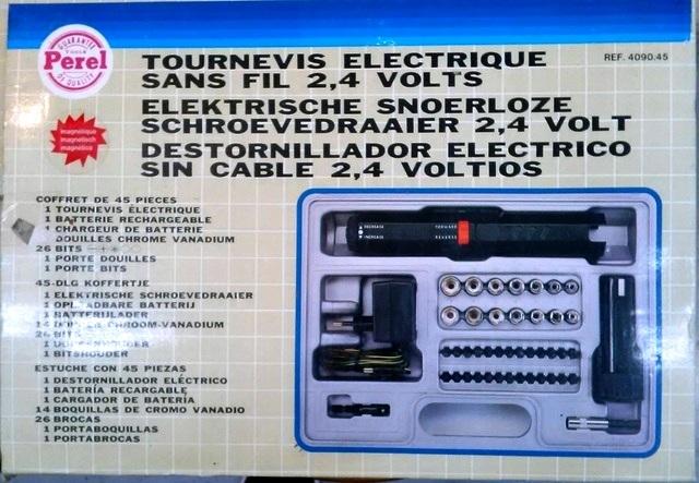 Taladro Atornillador Electrico Perel