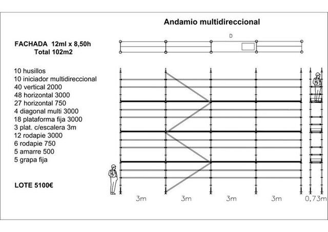ANDAMIOS MULTIDIRECCIONALES HOMOLOGADOS - foto 5