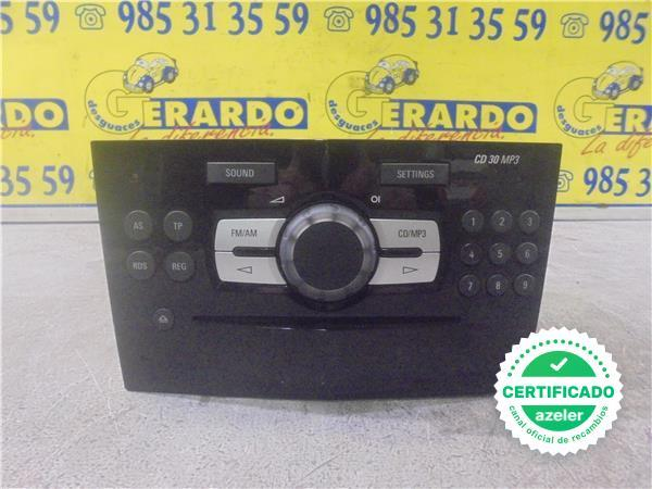 Kenwood volante mp3 Bluetooth USB CD radio del coche para Opel Corsa C 2004-2006 negro