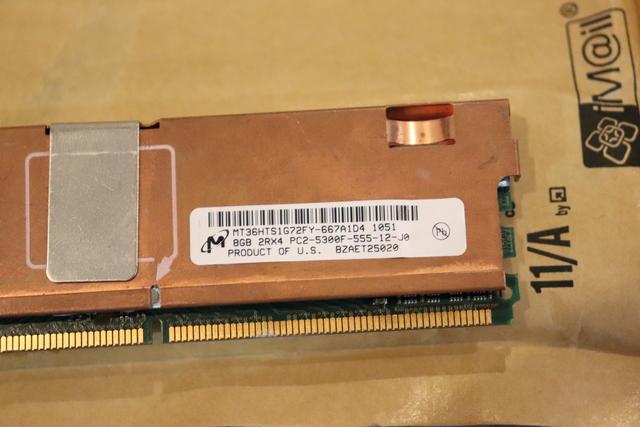 MICRON RAM 8GB DDR2 667MHZ - foto 2