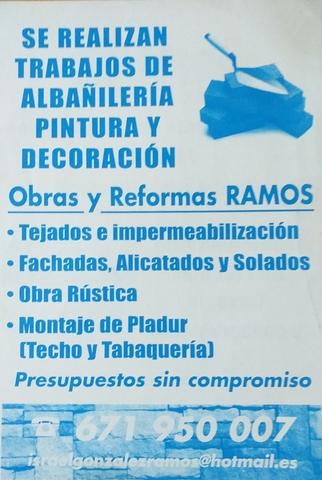 REFORMAS  RAMOS - foto 1