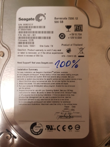 DISCO DURO SEAGATE 500GB 3, 5 INTERNO - foto 2
