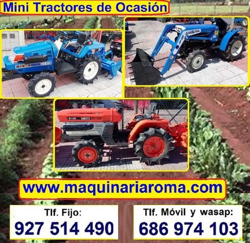 MINITRACTORES 2X4 Y 4X4 CON ROTAVATOR - foto 2