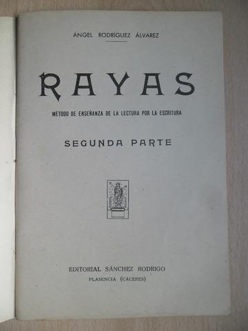 CARTILLA RAYAS SEGUNDA PARTE 1958 - foto 2