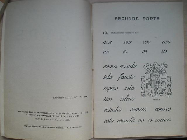 CARTILLA RAYAS SEGUNDA PARTE 1958 - foto 3