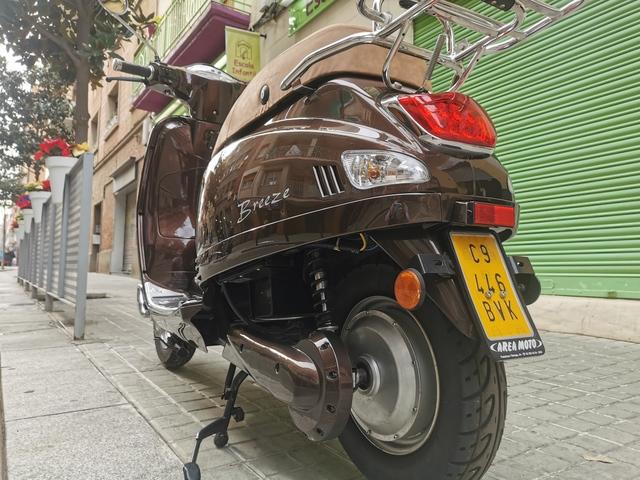 Motocicleta cubierta impermeable Vespa GTS 125/Super/ California /300/Super con parabrisas material