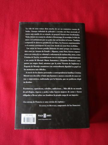 LIBRO REINAS MALDITAS DE CRISTINA MORATÓ - foto 2