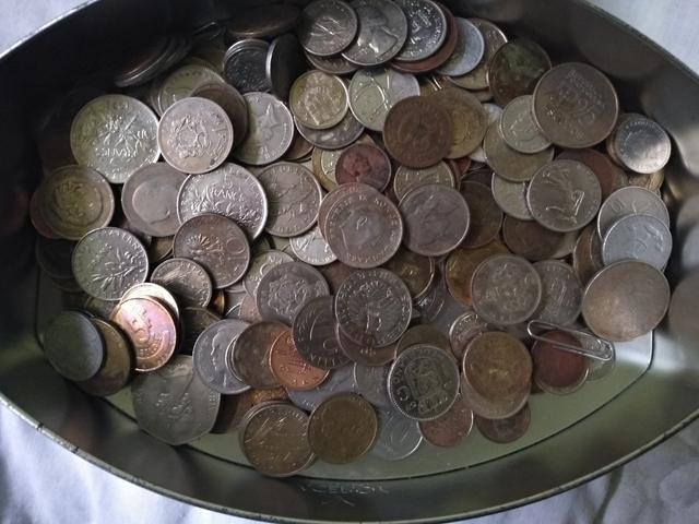 Pequeña Colección De Monedas Antiguas