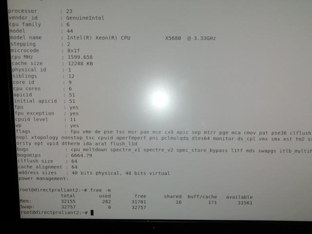 PROLIANT DL380 2 X5680 32 GB 4 SSD 250 - foto 3