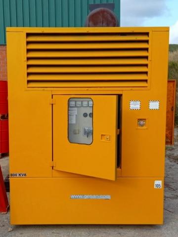 GRUPO ELECTROGENO GENERADOR 800 KVA - foto 2