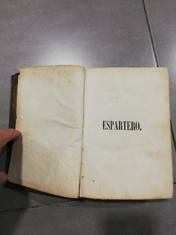 ANTIGUO LIBRO ESPARTERO 1848 - foto 3