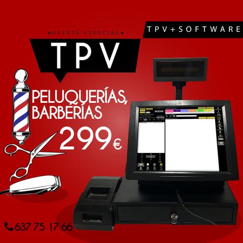 TPV PELUQUERIAS BARBERIAS - foto 1
