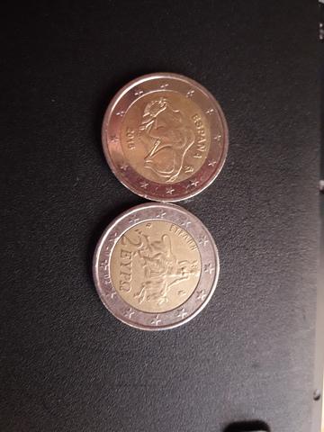Moneda De 2  De Grecia Colección