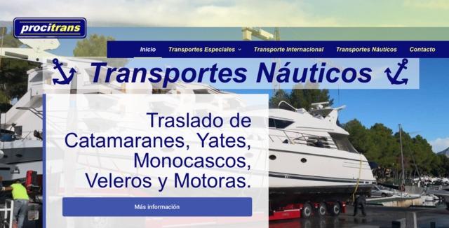 TRANSPORTE DE BARCOS CON MOTORES DE EJES - foto 1