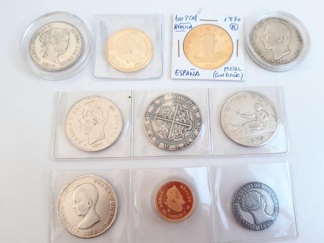 10 Monedas Replicas