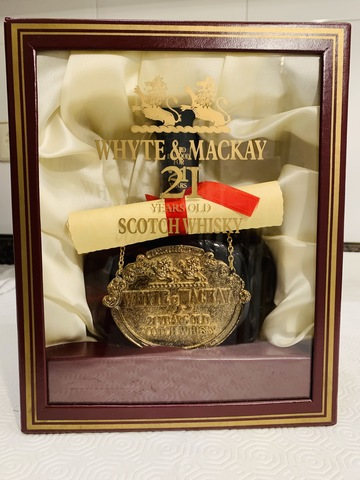 White & Mackey 21Yo. Whisky. Ppios.80S