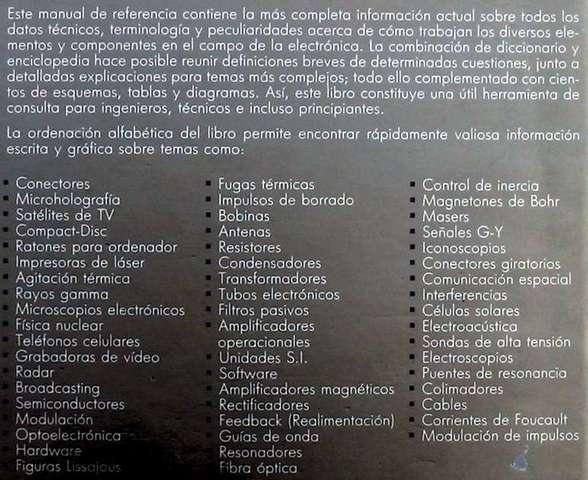 DICCIONARIO ENCICLOPÉDICO DE ELECTRÓNICA - foto 2