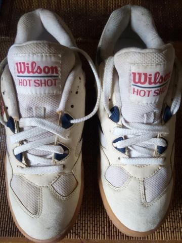ZAPATILLAS WILSON HOTSHOT DE 1981 (NUEVA - foto 1