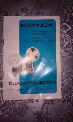 PROYECTOR SUPER-8 MODELO RAYNOX DV707TC - foto 3