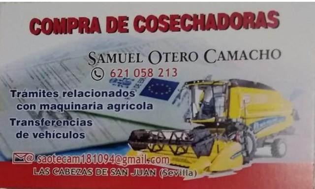 COMPRO NEW HOLLAND COSECHADORAS - foto 1
