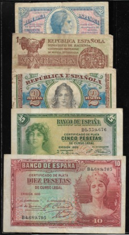 Lote Billetes Republica
