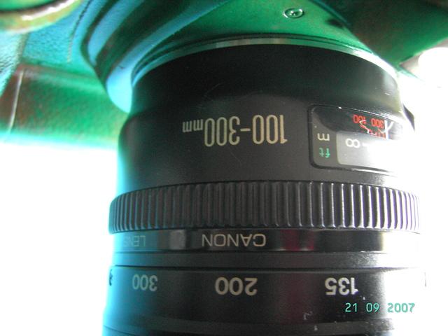 CANON 100-300MM USM F 4. 5-5. 6 - foto 1