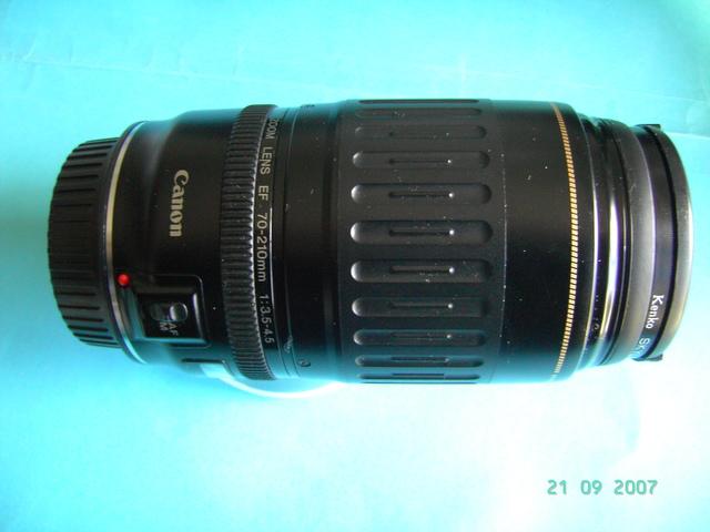 CANON 70-210MM USM  F 3. 5-4. 5 - foto 2