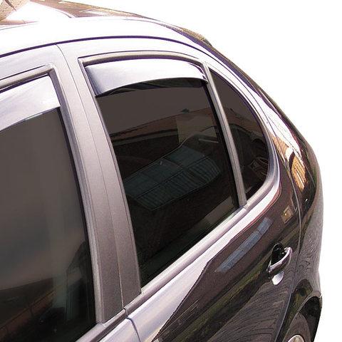 Modifycar Deflectores Delanteros para Leon ST 2013 derivabrisas