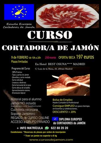 CURSO DE CORTADOR DE JAMÓN GRANADA 2020 - foto 7