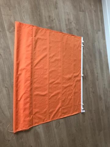 Estores Plegables Naranja 135x175