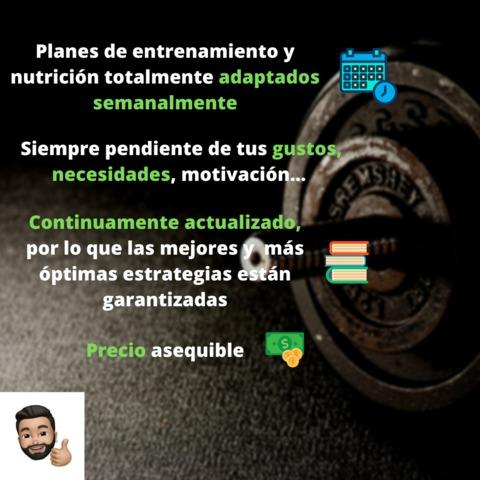 ENTRENADOR PERSONAL Y NUTRICIONISTA - foto 1