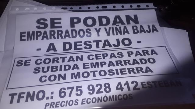 PODAR EMPARRADOS - foto 1