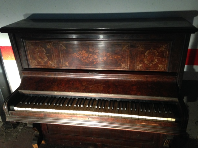 PIANO INGLÉS_MOGGRIDGE LONDON 1891 - foto 1
