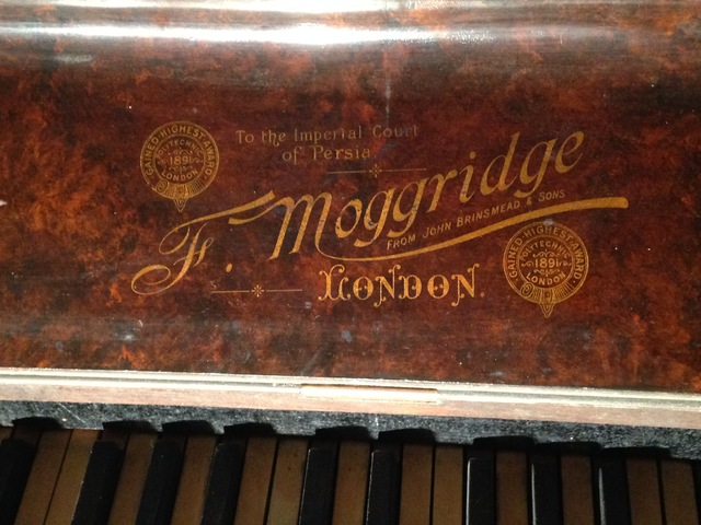 PIANO INGLÉS_MOGGRIDGE LONDON 1891 - foto 2