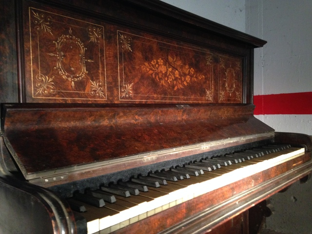 PIANO INGLÉS_MOGGRIDGE LONDON 1891 - foto 3