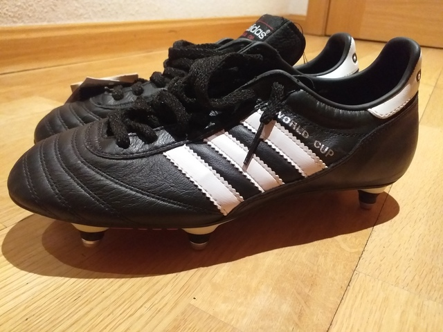 zapatos adidas copa mundial piel canguro alemanes junior