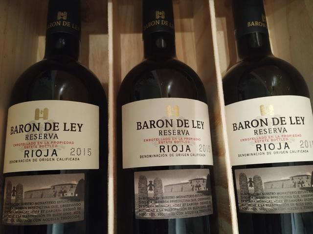 Estuche 3 Botellas Rioja Barón De Ley.