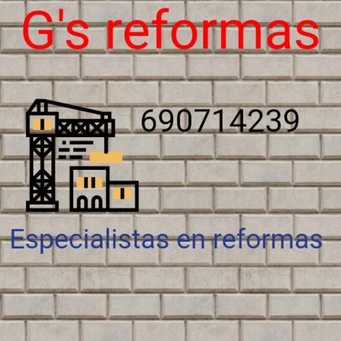 G\'S REFORMAS - foto 1
