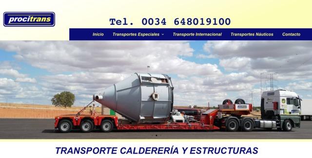 TRANSPORTE PIEZAS CALDERERÍA - foto 1