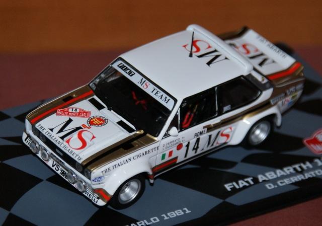 Fiat Abarth 131 Rally Rallye De Montecar