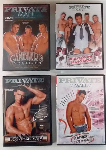4 FABULOSOS DVDS PORNO GAY - foto 1
