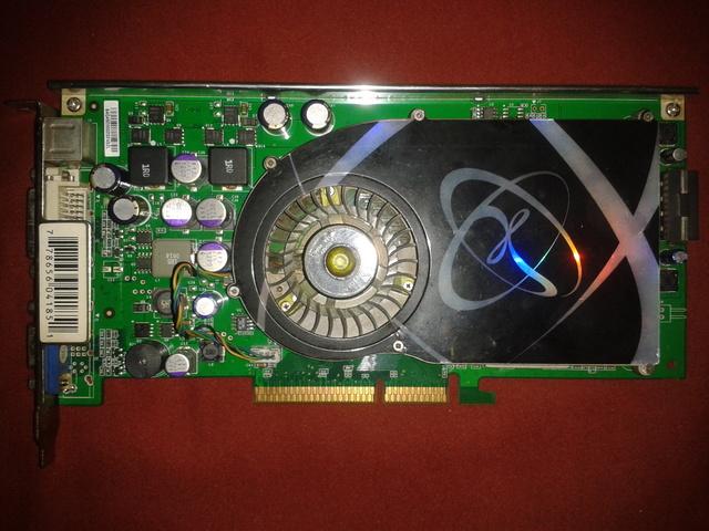 TARJETA GRÁFICA XFX 7800 GS AGP 8X 256MB - foto 1