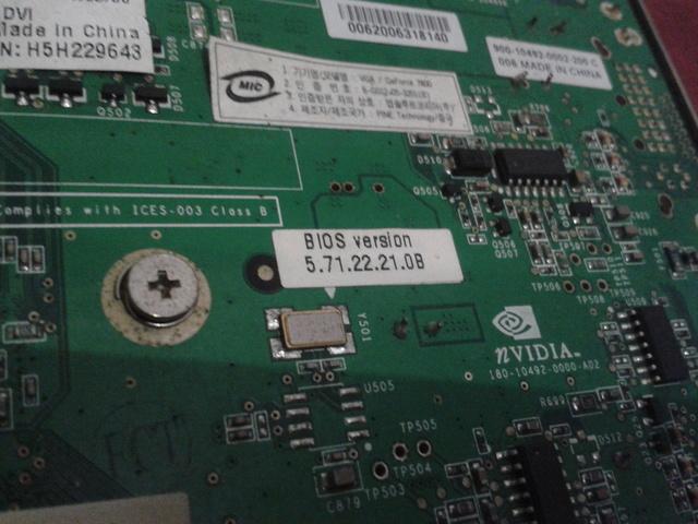 TARJETA GRÁFICA XFX 7800 GS AGP 8X 256MB - foto 9