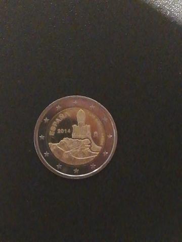 Moneda De 2 Euros España  2014