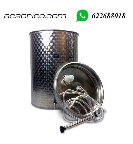 BARRIL VINO LIQUIDOS INOX - 500 LITROS - foto 1