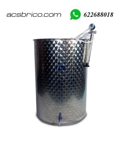 BARRIL VINO LIQUIDOS INOX - 500 LITROS - foto 2