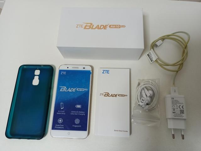 SMARTPHONE ZTE BLADE A610 PLUS + FUNDA - foto 8