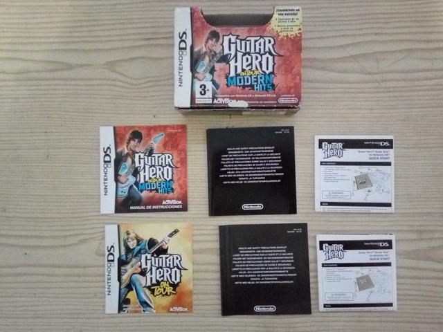 NINTENDO DS GUITAR HERO ON TOUR MODERN H - foto 1