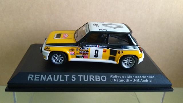 Renault 5 Turbo - Ragnotti - 1981